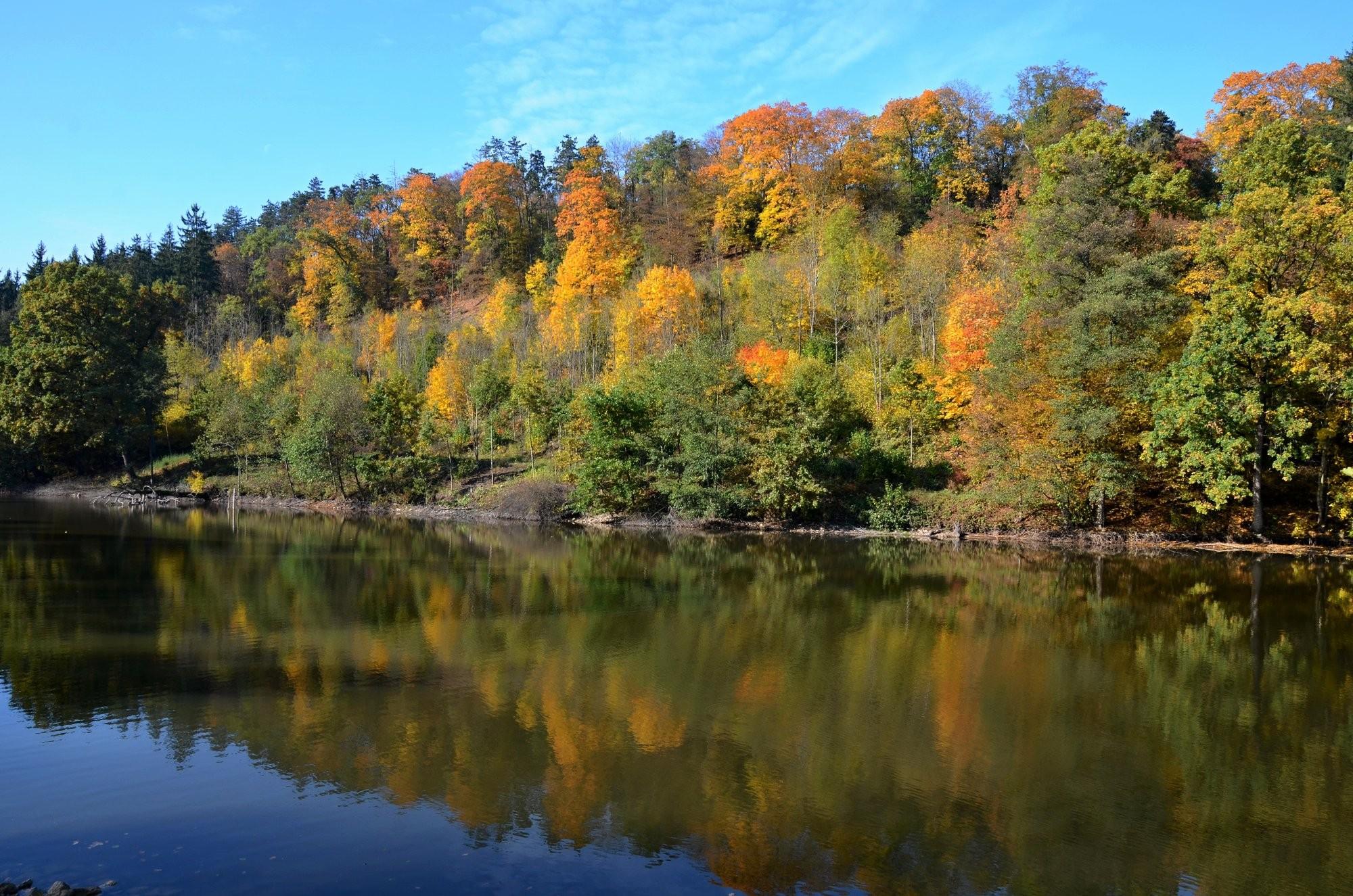 Podzim ve středních Čechách