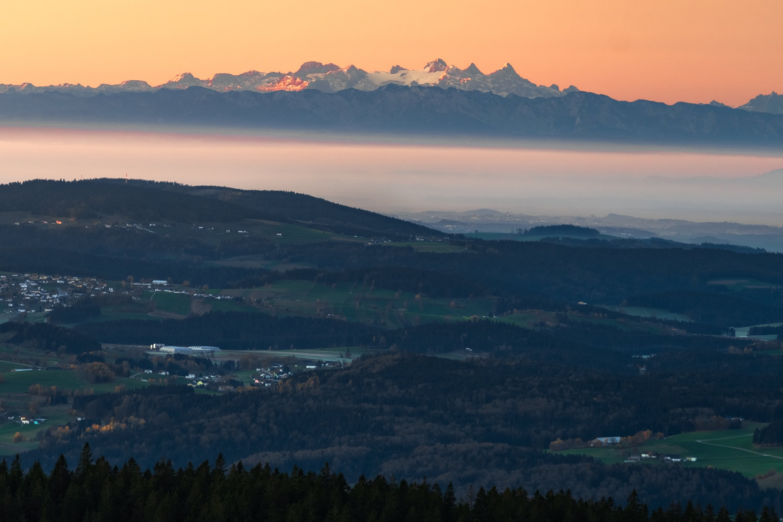Dachstein z Plechého, Šumava