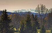 Alpy ze Šumavy