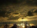 Západ slunce 26.11.2013