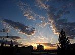 Západ Slunce 20.4.2015