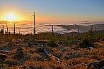 Šumavský západ slunce