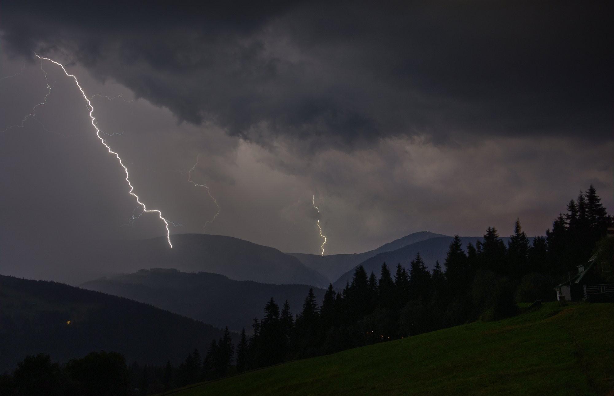 Krkonošská bouřka 2016