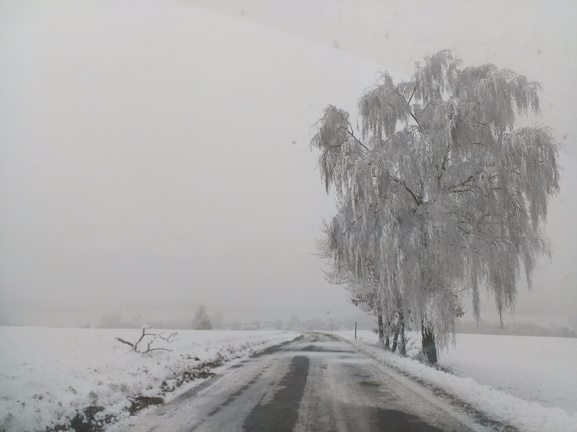 Krása zimní Vysočiny