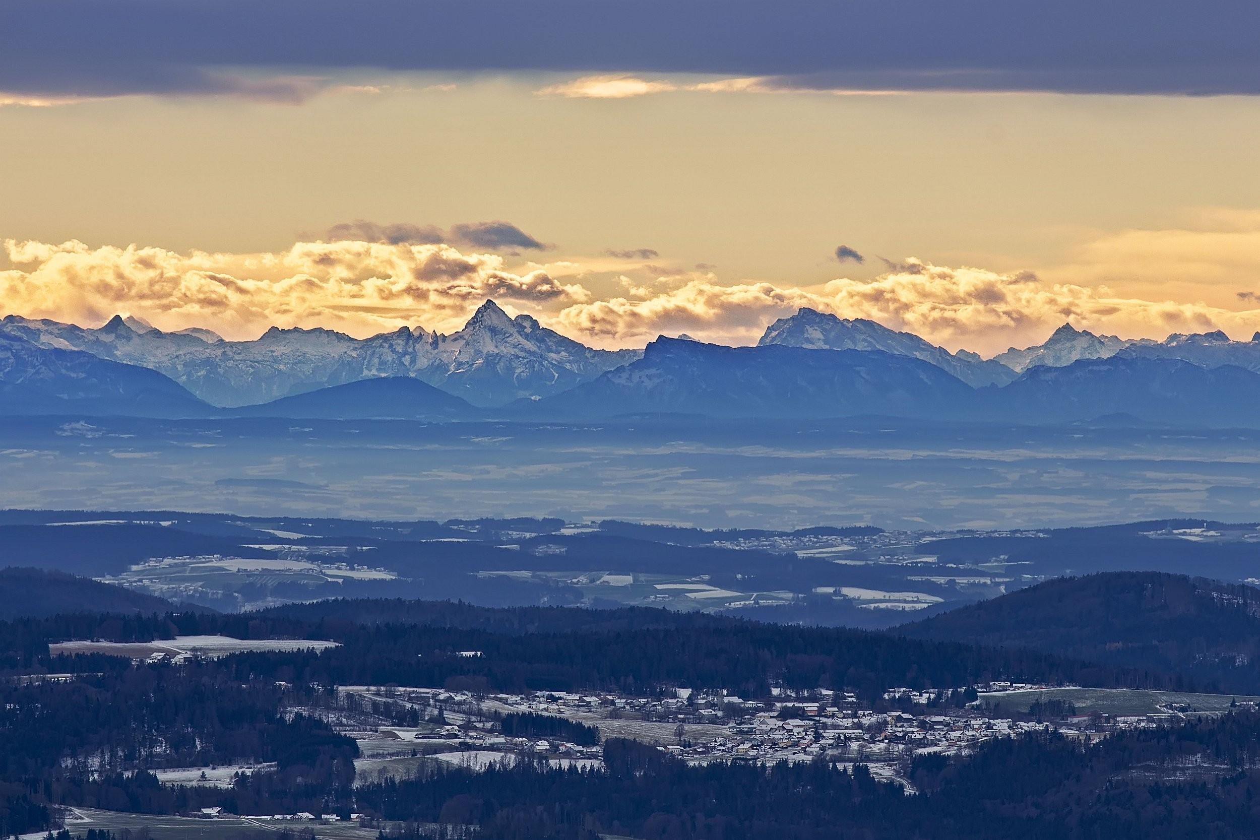 Alpy ze Šumavy - Třístoličník