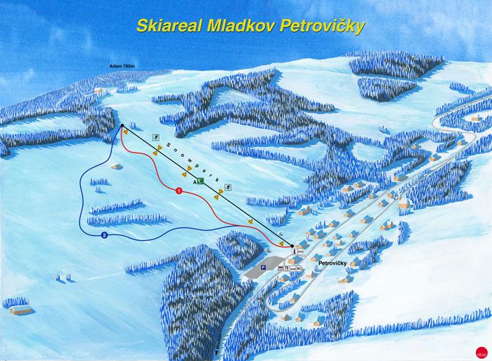 Mladkov - Petrovičky