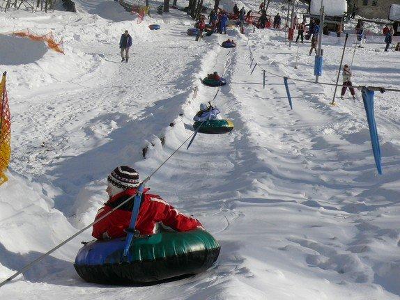 Snowtubing  - Špindlerův Mlýn - Bedřichov