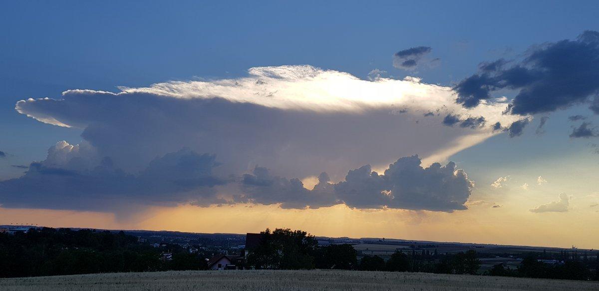 Počasí Praha - Bílá hora