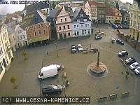 Záběr z webkamery Česká Kamenice