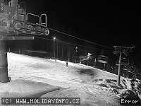 Záběr z webkamery Černá Hora