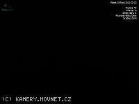 Záběr z webkamery Nový Hrozenkov
