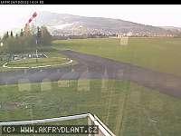 Záběr z webkamery Frýdlant nad Ostravicí