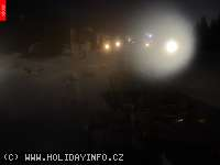 Záběr z webkamery Pec pod Sněžkou