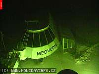 Záběr z webkamery Špindlerův Mlýn