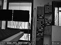 Záběr z webkamery Železná Ruda