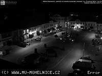 Záběr z webkamery Mohelnice