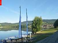 Záběr z webkamery Lipno