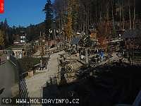 Záběr z webkamery Dolní Morava