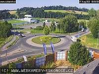 Záběr z webkamery Vrchlabí