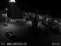 Záběr z webkamery Uničov