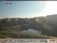 Záběr z webkamery Písek