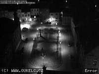 Záběr z webkamery Kelč