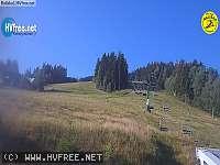 Záběr z webkamery Horní Bečva