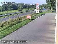 Záběr z webkamery Šenov u Ostravy