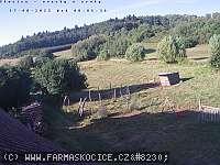 Záběr z webkamery Skočice