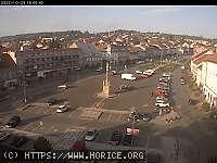 Záběr z webkamery Hořice