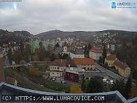 Záběr z webkamery Luhačovice