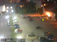 Záběr z webkamery Zábřeh