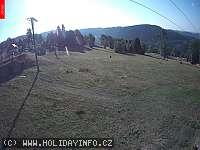 Záběr z webkamery Kořenov - Příchovice