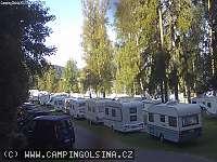 Záběr z webkamery Černá v Pošumaví