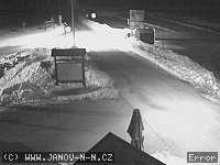 Záběr z webkamery Janov nad Nisou - Hrabětice
