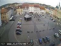 Záběr z webkamery Klatovy