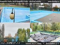 Záběr z webkamery Hulín