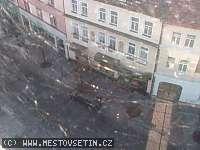 Záběr z webkamery Vsetín