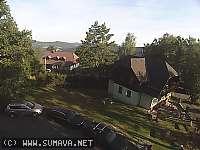 Záběr z webkamery Hojsova Stráž