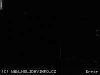 Záběr z webkamery Klínovec