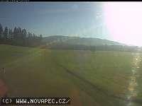Záběr z webkamery Nová Pec