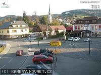 Záběr z webkamery Hovězí
