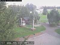 Záběr z webkamery Přívrat
