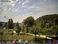 Záběr z webkamery Kralupy nad Vltavou