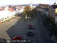 Záběr z webkamery Kostelec nad Orlicí