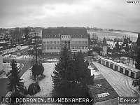 Záběr z webkamery Dobronín