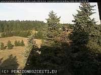 Záběr z webkamery Dlouhá Louka - Osek