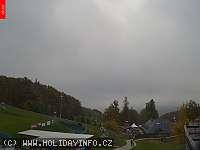 Záběr z webkamery Tošovice