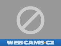 Záběr z webkamery Domašov u Brna