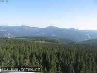 Záběr z webkamery Černá Hora - Janské Lázně